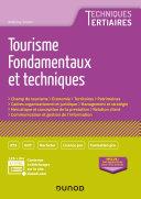 Pdf Tourisme - Fondamentaux et techniques Telecharger