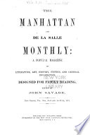 The Manhattan and de la Salle Monthly Book PDF