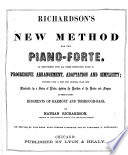Richardson s New Method for the Piano forte