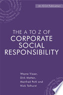 The A to Z of Corporate Social Responsibility Book