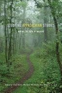 Studying Appalachian Studies