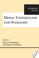 Moral Universalism And Pluralism