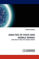 Analysis of Fixed and Mobile Wimax
