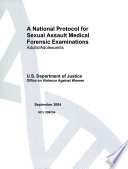 A National Protocol for Sexual Assault Medical Forensic Examinations