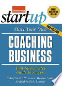 Start Your Own Coaching Business 2 E