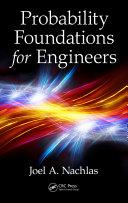 Probability Foundations for Engineers Pdf/ePub eBook
