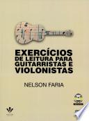 EXERCÍCIOS DE LEITURA PARA GUITARRISTAS E VIOLONISTAS