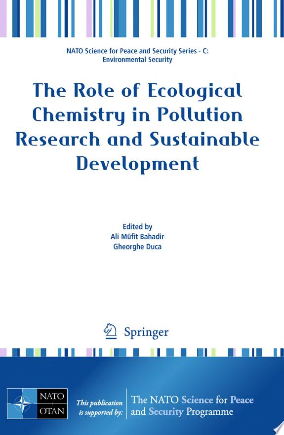 The Role of Ecological Chemistry in