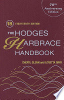 """The Hodges Harbrace Handbook"" by Cheryl Glenn, Loretta Gray"