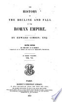 The History of the Decline and Fall of the Roman Empire  7 Book