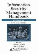 Information Security Management Handbook on CD ROM  2006 Edition