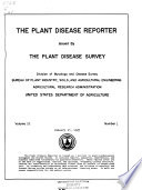 The Plant Disease Reporter Book
