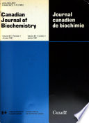 Canadian Journal of Biochemistry