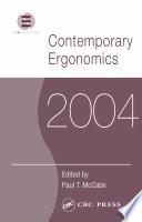 Contemporary Ergonomics 2004