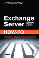 Exchange Server 2007 How To