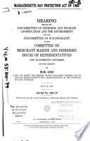 Massachusetts Bay Protection Act of 1988