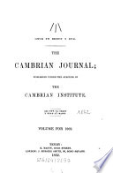 The cambrian journal