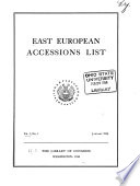East European Accessions Index