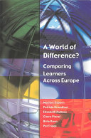 A World Of Difference  Comparing Learners Across Europe