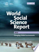 World Social Science Report 2013 Book