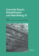 Concrete Repair  Rehabilitation and Retrofitting IV