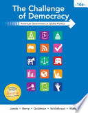 Cover of The Challenge of Democracy: American Government in Global Politics