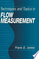 Techniques and Topics in Flow Measurement