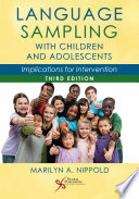 Language Sampling With Children and Adolescents