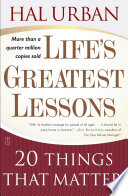 """Life's Greatest Lessons: 20 Things That Matter"" by Hal Urban"