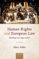 Human Rights and European Law Pdf/ePub eBook