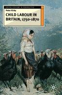 Child Labour in Britain, 1750-1870 [Pdf/ePub] eBook