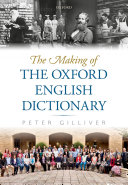 Pdf The Making of the Oxford English Dictionary