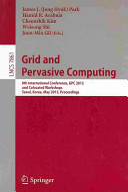 Grid and Pervasive Computing Book