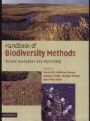 Handbook of Biodiversity Methods