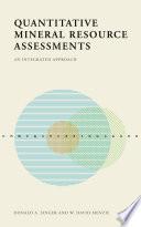 Quantitative Mineral Resource Assessments