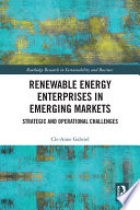Renewable Energy Enterprises in Emerging Markets