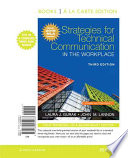 Strategies for Technical Communication in the Workplace, Books a la Carte Edition, MLA Update Edition