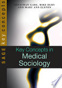 Key Concepts in Medical Sociology Book