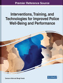 Interventions, Training, and Technologies for Improved Police Well-Being and Performance Pdf/ePub eBook