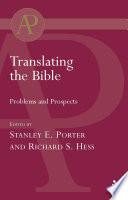 Translating the Bible