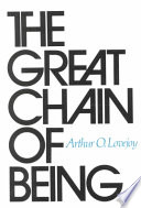 The Great Chain of Being Book
