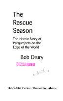 The Rescue Season Book PDF
