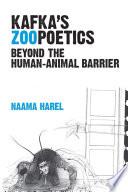 Kafka's Zoopoetics
