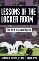 Lessons of the Locker Room Book