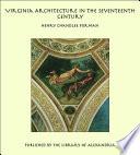 Virginia Architecture In The Seventeenth Century