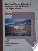 Basin and Range Extensional Tectonics Near the Latitude of Las Vegas  Nevada