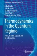 Thermodynamics in the Quantum Regime Pdf/ePub eBook