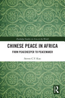 Chinese Peace in Africa Book