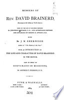Memoirs of Rev  David Brainerd Book PDF