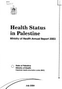 The Status of Health in Palestine